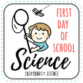 Back to School Science Worksheet {First Day of School Activity}