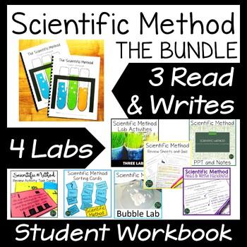 Scientific Method Bundle NOW with Student Workbook!