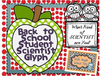 Back to School Scientist Glyph