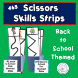 Back to School SCISSORS SKILLS Cutting Practice Strips