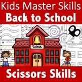 Back to School Scissors Skills Activities