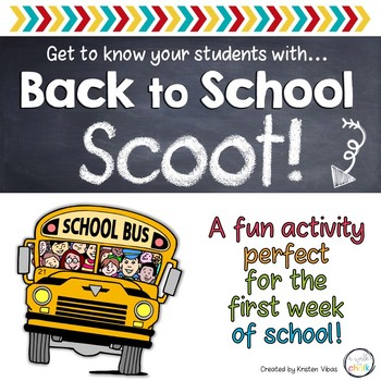 "Back to School ""Scoot!"" FREEBIE"