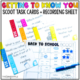 Back to School Scoot: A Getting to Know You Activity Back
