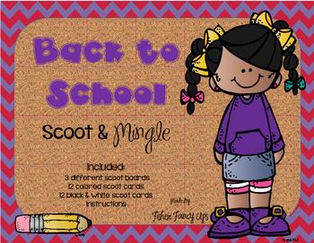 Back to School Scoot & Mingle