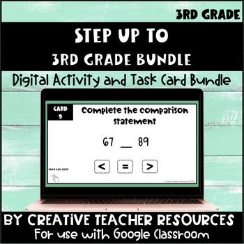 Step Up to Third Grade Task Cards