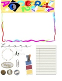 Back to School Scrapbook Kit