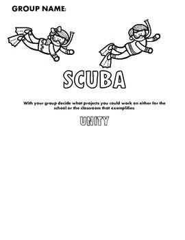Back to School Scuba Theme