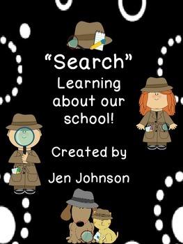 "Back to School ""Search"" FREEBIE!"