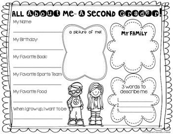 Back to School- Second Grade