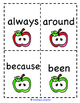 Back to School: Second Grade Dolch Sight Word Game