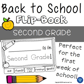 Back to School - Second Grade - Flip-Book