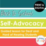 Back to School Self-Advocacy