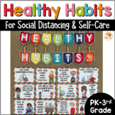Social Distancing Posters Bulletin Board for Self-Care | B