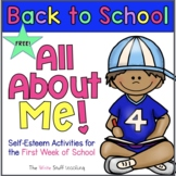All About Me | First Week of School