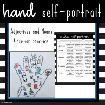 Unique Back to School Self Portrait Activity