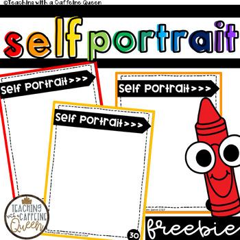 Back to School Self Portrait Freebie