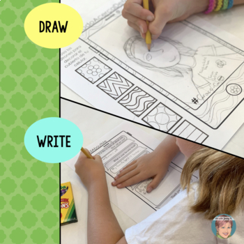 All About Me Drawing & Writing - Great Beginning and/or End of Year Activity!
