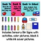 Back to School Sensory Bin Activities