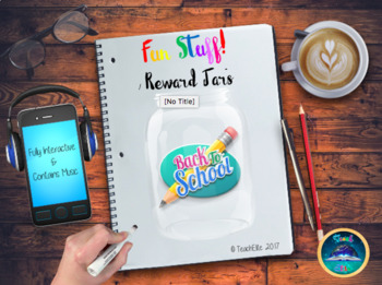 Back to School - September Reward Jars