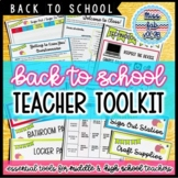 Back to School Essentials: Secondary Starter Kit!