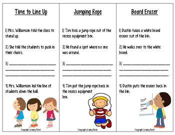 Back to School Sequencing and Predicting Skills
