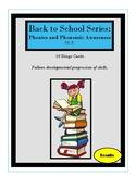 Back to School Series: Phonemic Awareness Bingo