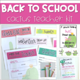 Meet the Teacher *CACTUS* Back to School Kit