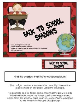 Back to School Shadows