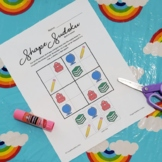 Back to School - Shape Sudoku - Beginner
