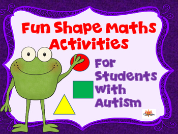 Fun Shape Math Activities - Kindergarten/Autism