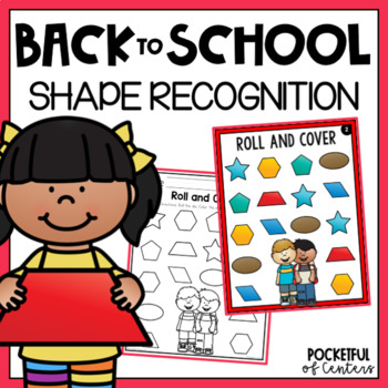 Back to School Shapes Game