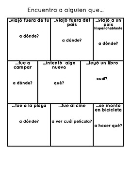 Back to School Sheets Spanish by Mrs Vs Store | Teachers Pay ...