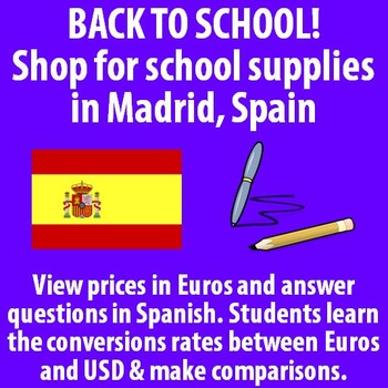 Back to School! Shop for School Supplies in Madrid, Spain