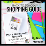 Back to School Shopping Guide | STEM & Technology Resources