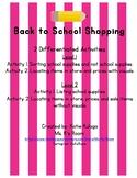 Back to School Shopping Community Based Instruction (CBI)