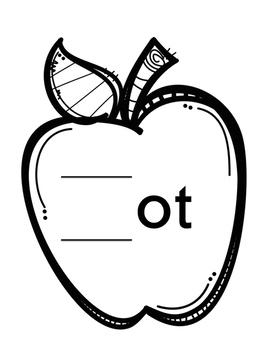 Back to School Short O Word Slides