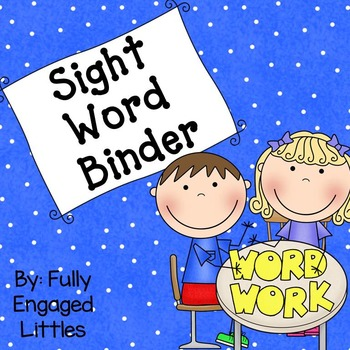 Individual Spelling Lists- Sight Words
