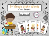 Back to School Sight Words Games (2nd Grade)