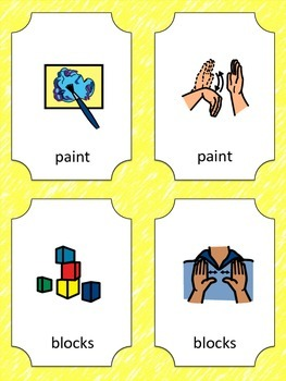 Back to School Sign Language Flash Cards