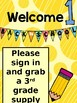 Back to School Signs - Open House Stations