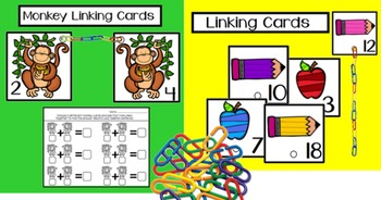 Back to School Simple Math Center Activities