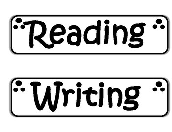 ~ 22 Simple & Large Classroom Labels ~