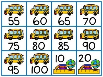 Back to School Skip Counting