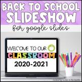 Back to School Slides