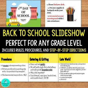 Back to School Slideshow!