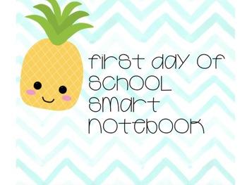 Back to School Smart Notebook