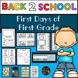 First Days of First Grade Lessons, Activities, and Community Building