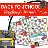 Back to School Playdough Smash Mats