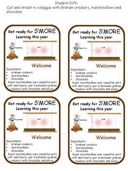 Back to School Smore Student Gift
