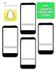 Back to School Snapchat Summer Story Project